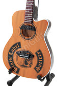 Miniature Acoustic Guitar Zakk Wylde Black Label Society Epiphone