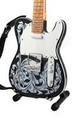 Miniature Guitar Waylon Jennings