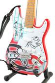 Miniature Guitar Art Series PINK FLOYD 'The Wall'