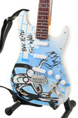 Miniature Guitar Art Series PINK FLOYD The Wall White