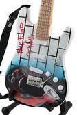 Miniature Guitar Art Series PINK FLOYD The Wall III