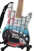 Miniature Guitar Art Series PINK FLOYD The Wall III