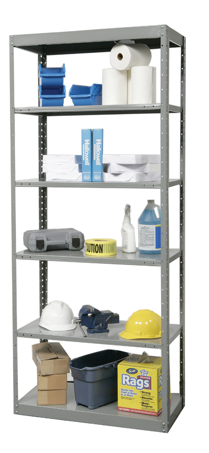 Hallowell DuraTeck Pass-Thru Steel Shelving