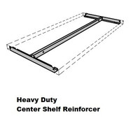 Heavy Duty Center Shelf Reinforcement