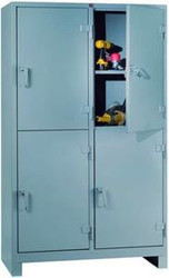 1120-4D Lyon Heavy Duty Storage Cabinet 4-Door