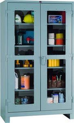 1120V Lyon Heavy Duty Clear View Cabinet Full Height
