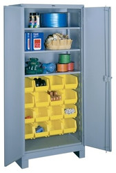 1123 Lyon All Welded Shelf-Bin Cabinet
