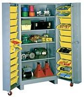 1125 Lyon Deep Door Cabinet with Tilt-Bins