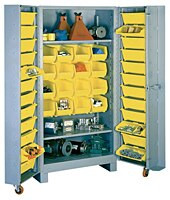 1126 Lyon Deep Door Cabinet with Tilt-Bins