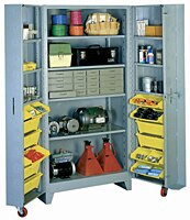 1127 Lyon Deep Door Cabinet with Tilt-Bins