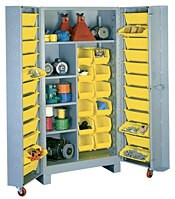 1128 Lyon Deep Door Cabinet with Tilt-Bins
