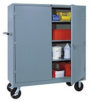 "Lyon Mobile 60"" Wide Cabinet"