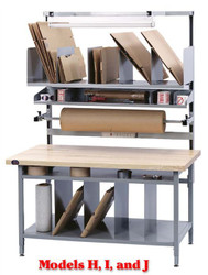 Proline Bench In A Box Packaging Bench