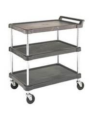 polymer shelf cart