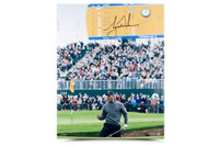 "TIGER WOODS AUTOGRAPHED & LIMITED ""BIRDIE AT THE BRITISH"" PICTURE UDA"