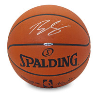 BEN SIMMONS Autographed Authentic Basketball UDA