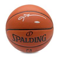 ALLEN IVERSON Autographed Spalding Basketball UDA