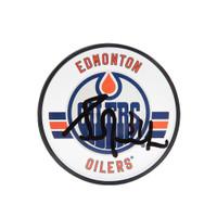GRANT FUHR Autographed Edmonton Oilers Acrylic Puck UDA
