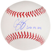 COREY SEAGER Los Angeles Dodgers Autographed Baseball with 2016 NL ROY Inscription FANATICS