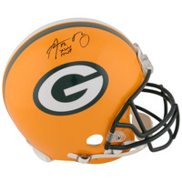 "AARON RODGERS Green Bay Packers Autographed Riddell Pro-Line Helmet with ""SB XLV MVP"" Inscription FANATICS"