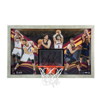 "KEVIN LOVE Autographed ""All-Around Game"" Backboard UDA LE 30"