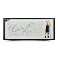 "KEVIN LOVE Autographed The Show ""K-LOVE"" UDA"