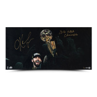 "KEVIN LOVE Autographed ""Enduring"" 30 x 15 UDA LE 50"