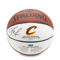 KEVIN LOVE Autographed Spalding 2016 Cavaliers Championship Basketball UDA