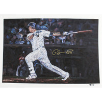 "GARY SANCHEZ Signed Swinging 22""x30"" Hintz Studios Fine Art Print (LE of 24) STEINER"
