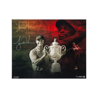 "TIGER WOODS Autographed ""Destined for Greatness"" 20 x 16 UDA"