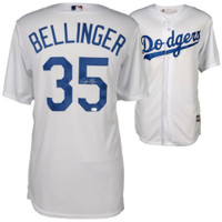 CODY BELLINGER Autographed Los Angeles Dodgers Home Jersey FANATICS