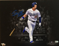 "CODY BELLINGER Autographed ""Spotlight"" 11 x 14 Photograph Dodgers FANATICS"