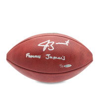 JAMEIS WINSTON Autographed & Inscribed NFL Duke Football UDA LE 13