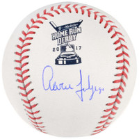 AARON JUDGE Autographed Authentic 2017 Home Run Derby Baseball FANATICS