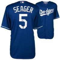 COREY SEAGER Autographed Los Angeles Dodgers Away Jersey FANATICS