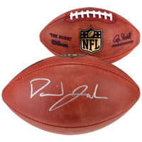 DAVID JOHNSON Autographed Authentic NFL Football FANATICS