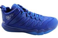 CHRIS PAUL Autographed Blue Jordan CP3.IX Shoe STEINER