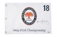 RORY McIlroy Hand Signed 2012 PGA Authentic Flag UDA