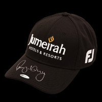 RORY McIlroy Hand Signed Jumeirah Titleist Black Hat UDA