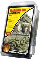 Woodland Scenics LK954 LEARNING KIT LANDSCAPING Grass Turf Foliage Scenery bcg