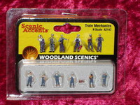 Woodland Scenics A2147 N TRAIN MECHANICS FIGURES Scenery New z