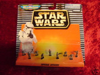 Star Wars Micro Machines IMPERIAL OFFICERS Figures New z