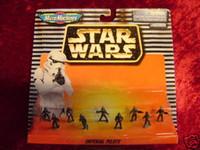 Star Wars MICRO MACHINES IMPERIAL PILOTS Scarce NIP Z