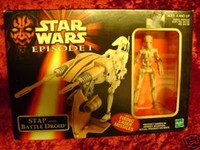Star Wars Figures STAP & BATTLE DROID New Toys in Box