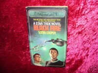 Star Trek NOVEL BLACK FIRE Paperback Book Z