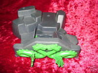 Playmobil 3841 DRAGON TEMPLE Parts ROCK with DRAGONS z