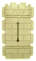 Playmobil 3666 Castle Parts Drawbridge WALL WITH SLOT Kings Knights bcg