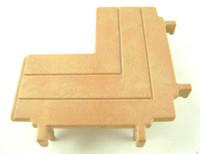 Playmobil 3666 Castle Parts DEFENSE PLATFORM CORNER Kings Knights bcg