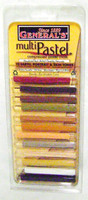PASTEL CHALK Set 12 EARTH TONES Weathering Models Trains Hobby z