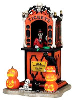 Lemax 03825 TICKET BOOTH Spooky Town Carnival Table Accent Decor bcg